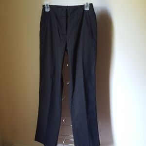 Investments Black and White PinStripe Pants